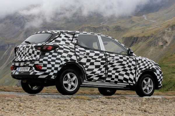 MG ZS Spy Shots