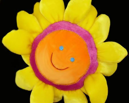family-short-story-toy-sunflower-smile