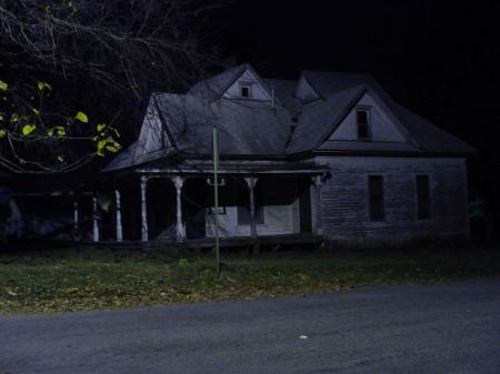 Haunted Bungalow in Night