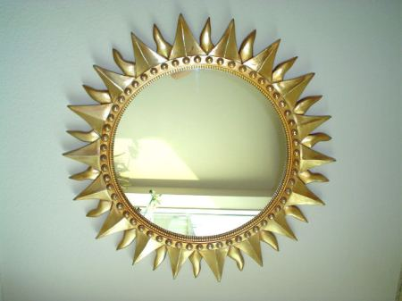 mirror-sun-shape