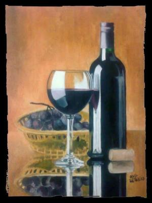 grapes-wine-bottle-glass