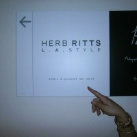 Herb Ritts Exhibit at Getty