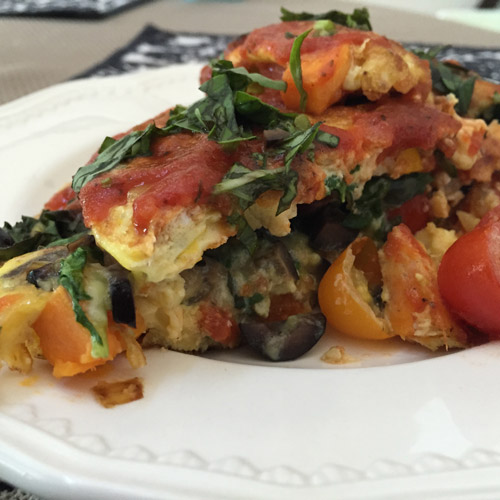Paleo Italian Frittata with Sausage & Vegetables - Your Vibrant Family