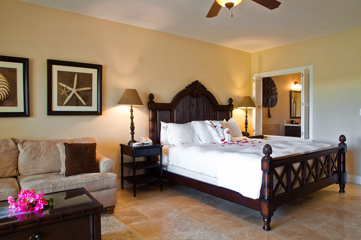Upscale Ceiling Fan Turks And Caicos Resort Three Bedroom Suites
