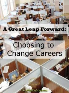 Malaking Hakbang Palusong: Pagbabago ng Career