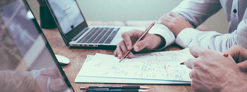 office hard work writing pencil pens laptops
