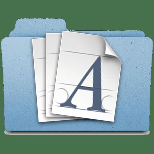 FontFolder