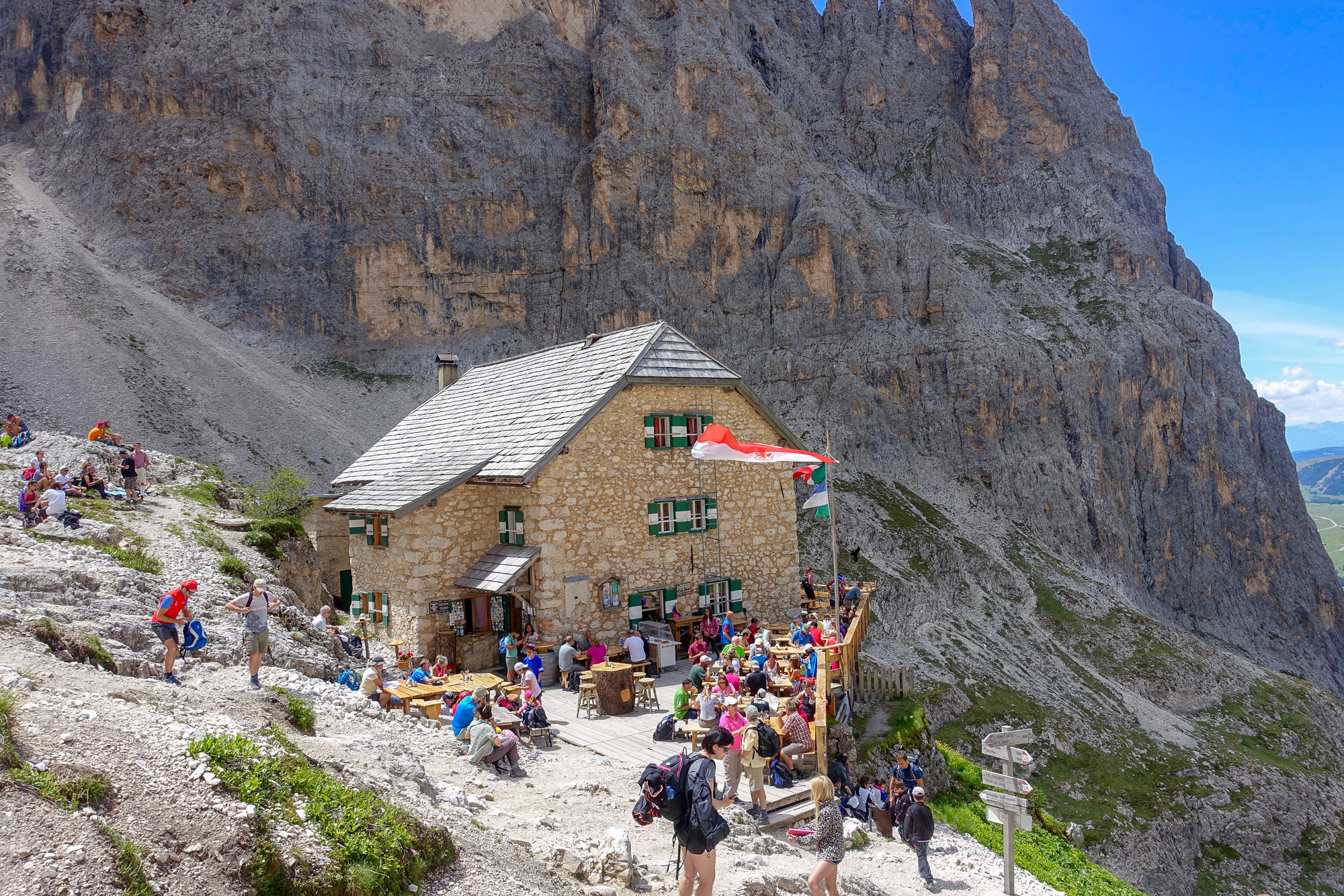 Gardena Berlin Two Great Hikes In Val Gardena In The Italian Dolomites You