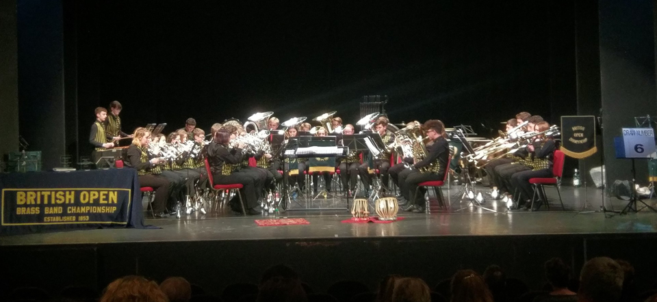 british open results 2017 brass band