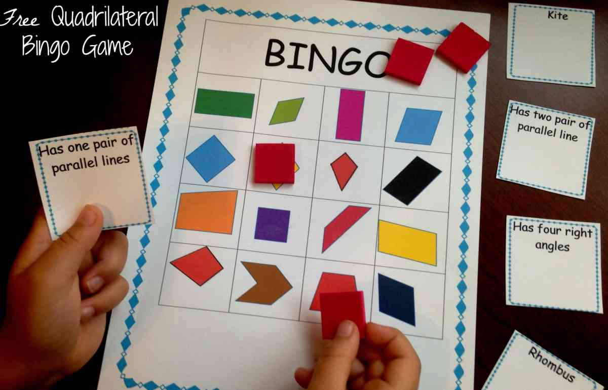 How to Review Classifying Quadrilaterals with Free Game