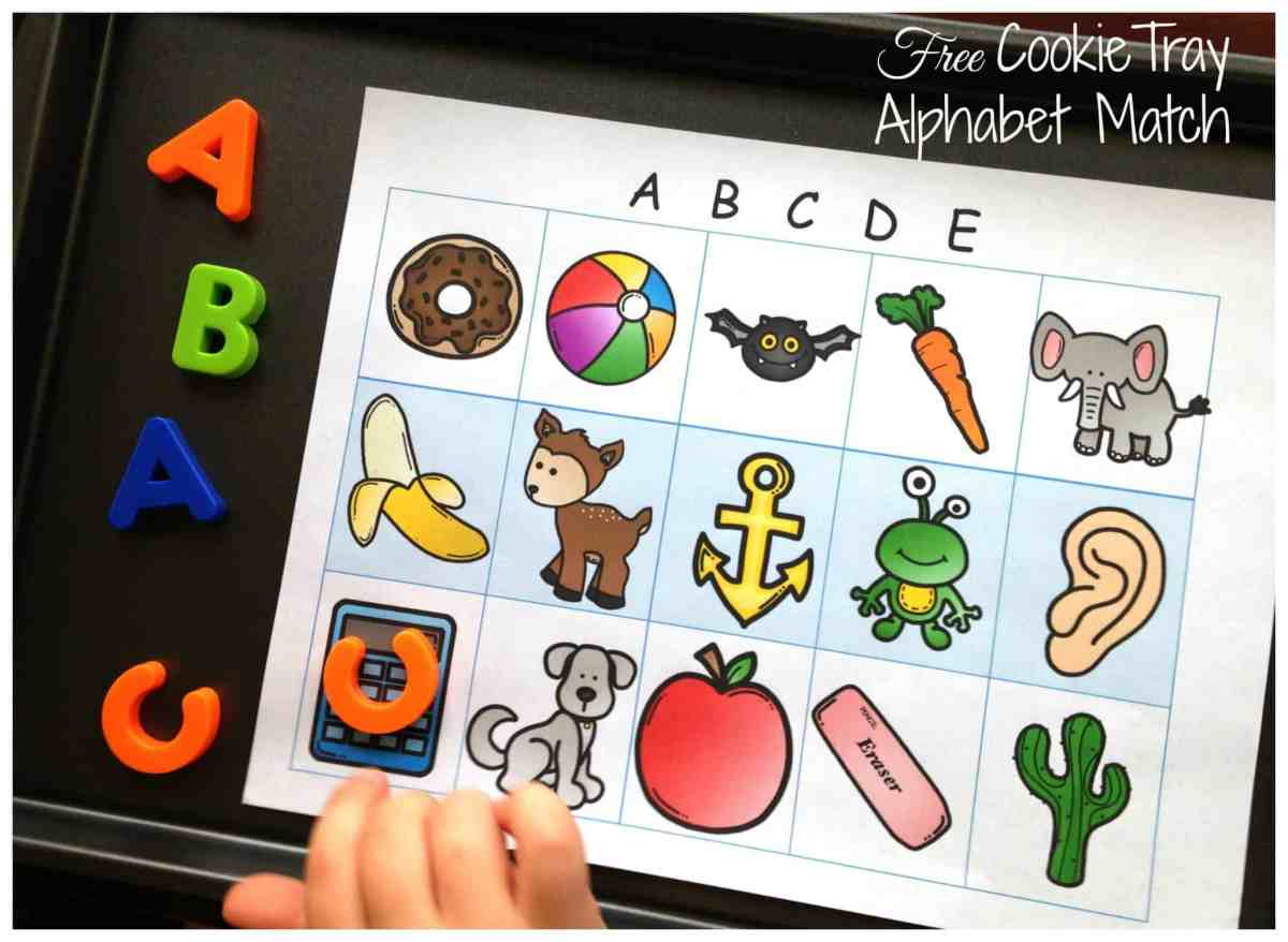 Easy and Free Beginning Letter Sound Match
