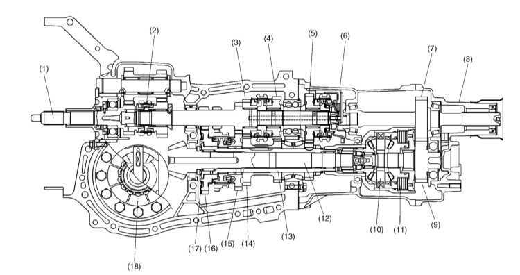 Subaru Transmission Parts Diagram Wiring Schematic Diagram