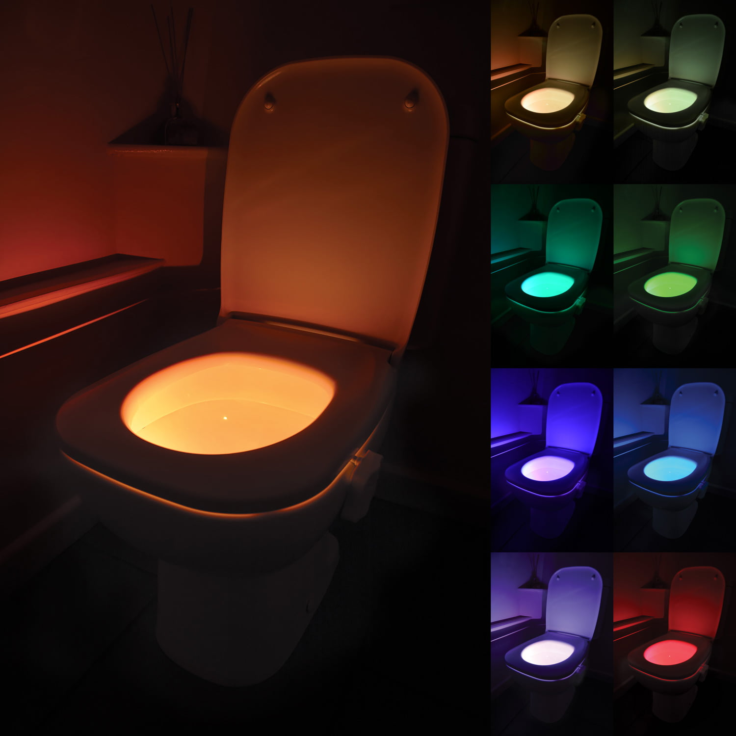 Led Night Lite Led Motion Activated Toilet Bowl Night Light Grimsby
