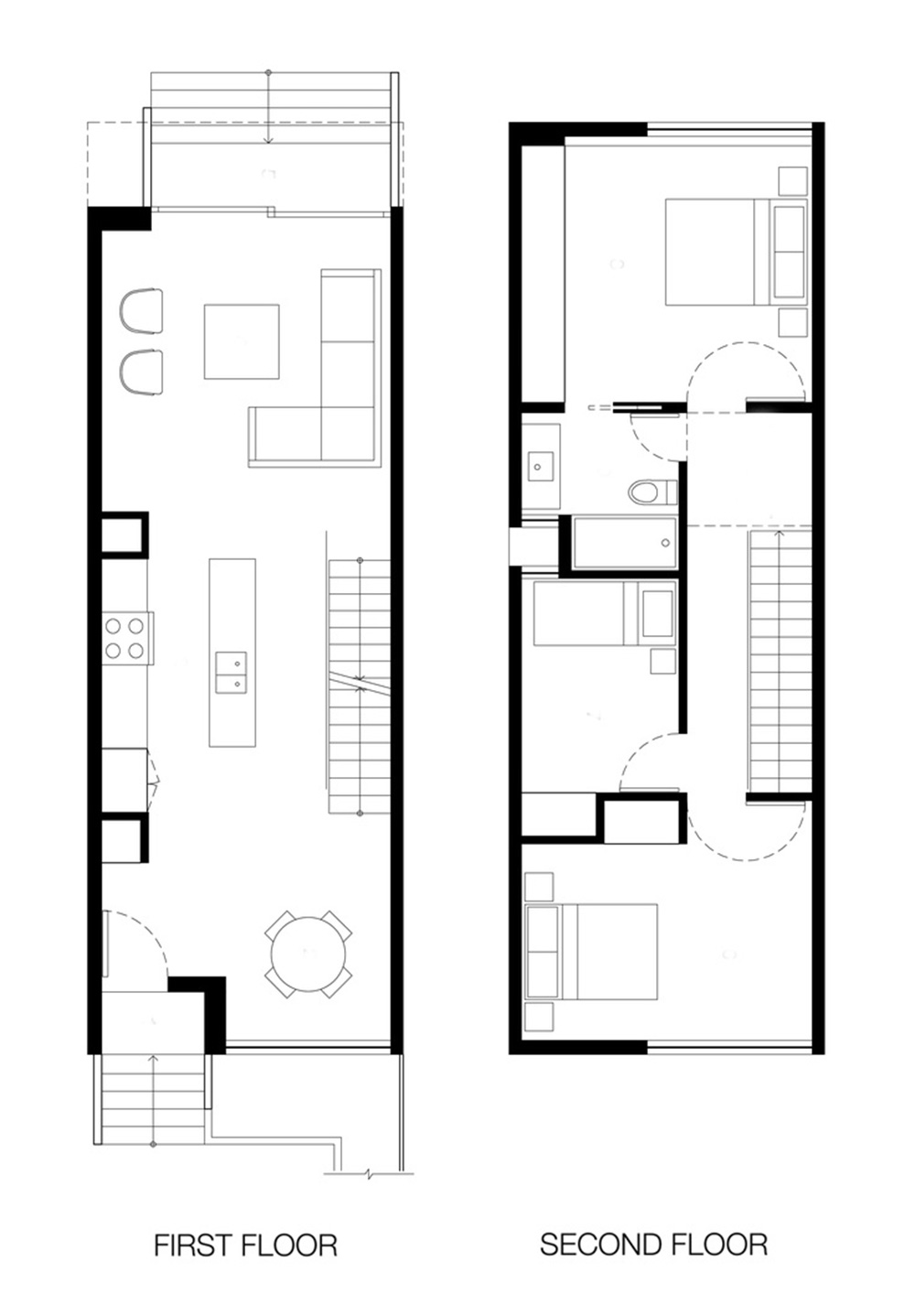 Floor Plan House Characteristics Of Simple Minimalist House Plans