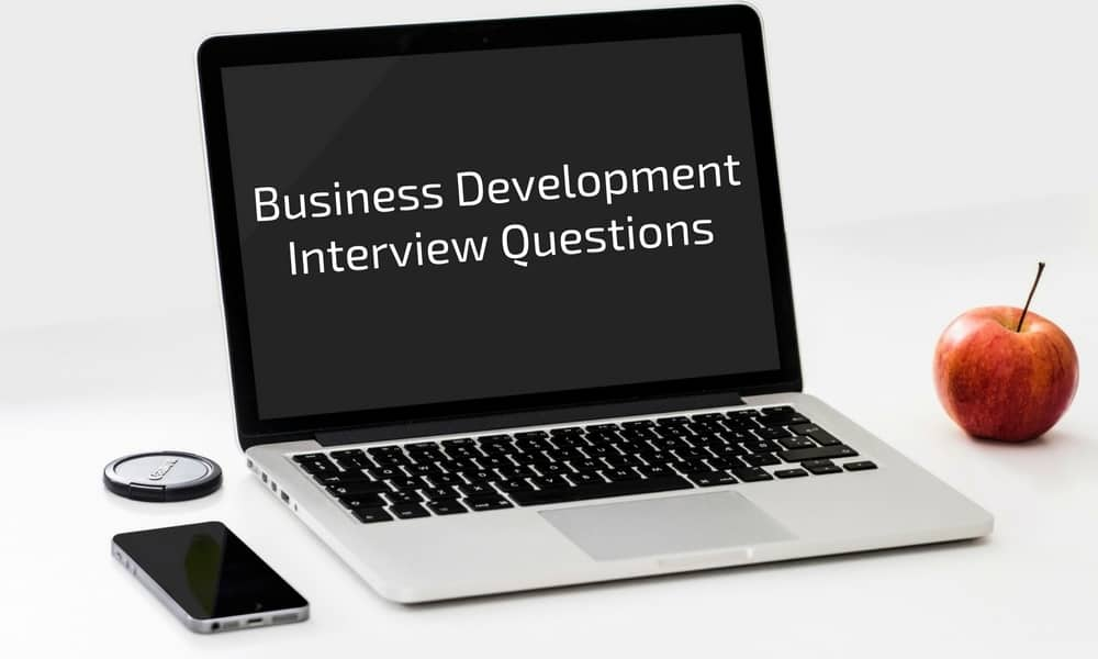 Top 7 Business Development Interview Questions Y Scouts - sales advisor interview questions