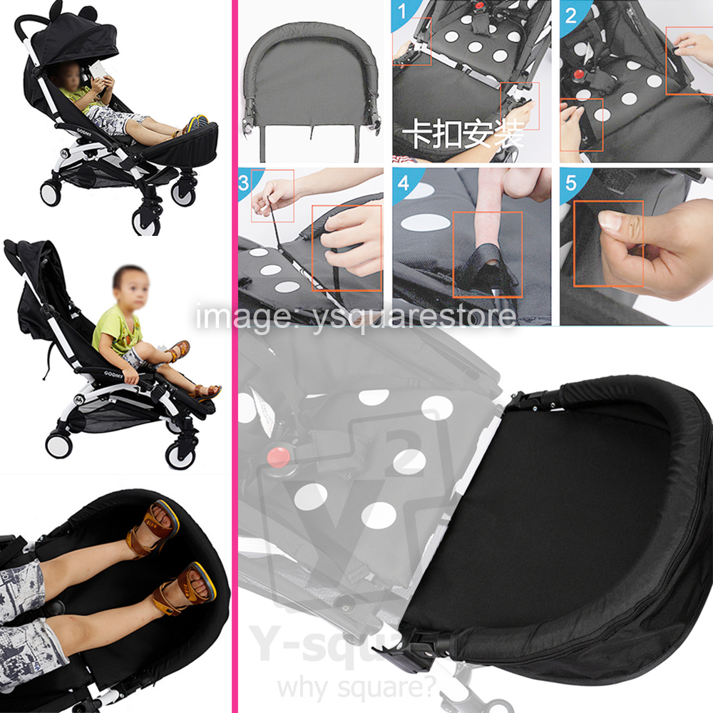 Stokke Stroller Lebanon Details About Extension 32cm Generic Booster Footrest Bumper Stroller Accessories Yuyu Yoya