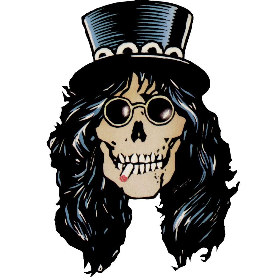 Satanic Iphone Wallpaper Slash Skull Logo Www Imgkid Com The Image Kid Has It