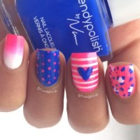 Bow & Chevron Nail Art Tutorial | Doovi