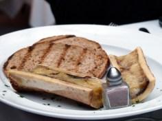roast marrowbone served with mirto salt and crostini | Olivocarne | Yvanne Teo