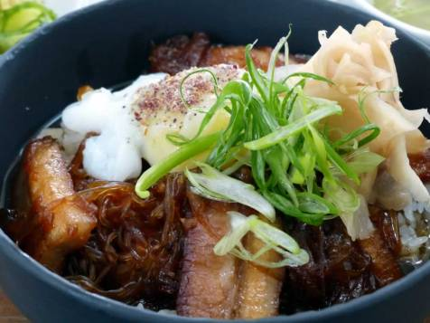 pork belly donburi at The Magazine Restaurant | ytTastes | Yvanne Teo