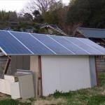 Feb 2013, solar power shed