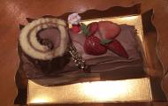 チョコレートのブッシュドノエル
