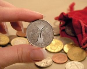 記念硬貨。クリックで拡大