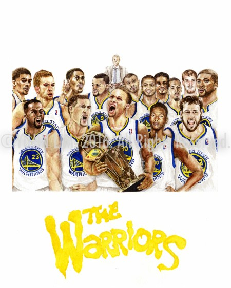 The Warriors - Golden State 2015 Championship