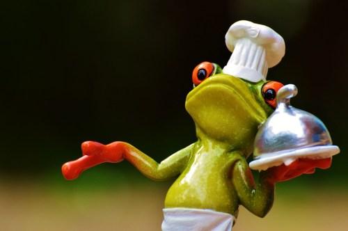 料理 食べる