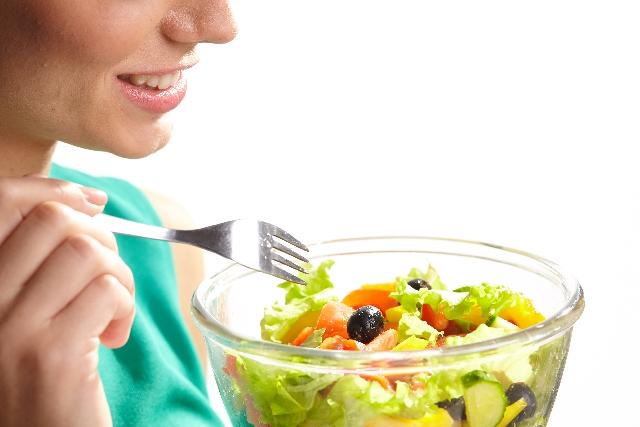 食べる サラダ 野菜