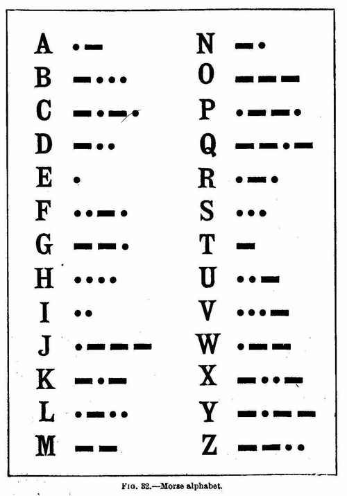 morse code Piano Notebook