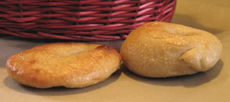 Which is the real bagel?