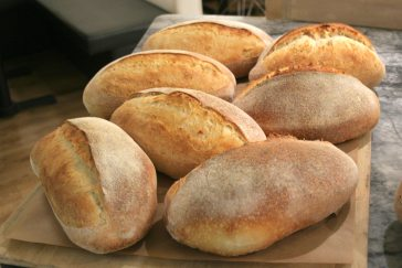 Delicious sourdough loaves