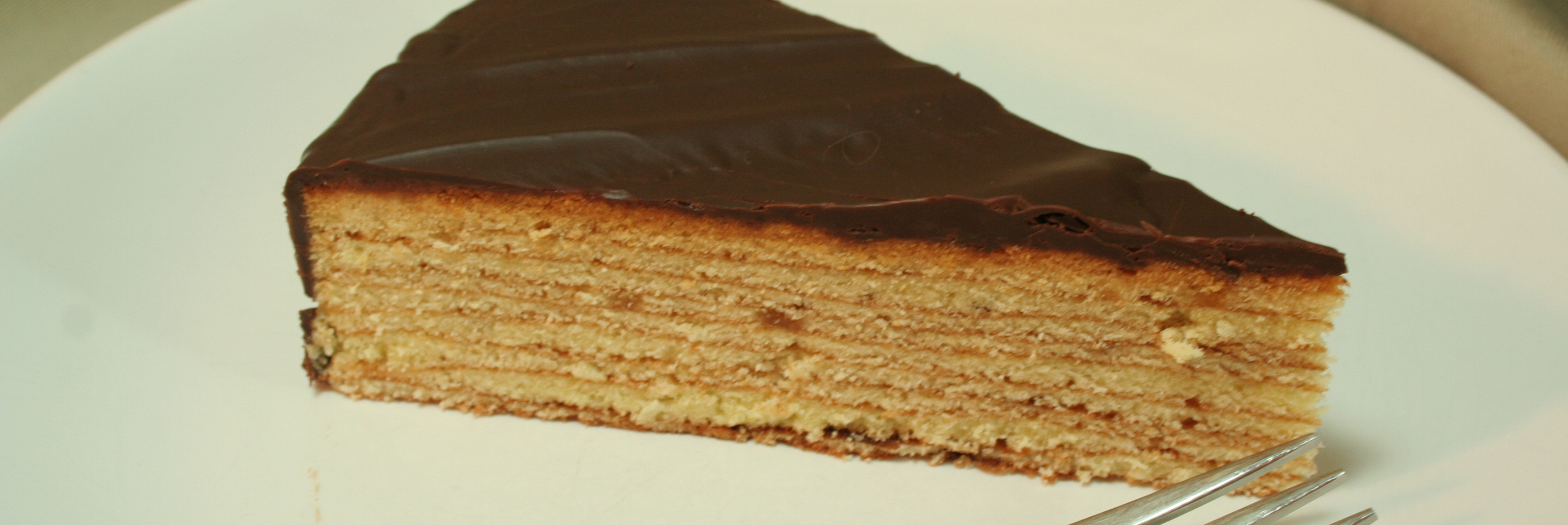 Baumkuchen Multi Layered Tree Cake With Chocolate Couverture