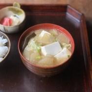 お味噌汁・養生三宝・味噌汁・和食・免疫力・発酵食・味噌・miso