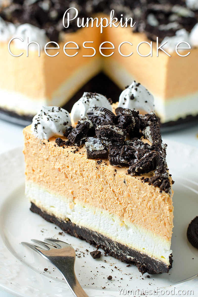 No Bake Oreo Kuchen Pumpkin Cheesecake With Oreo Crust No Bake