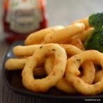 Crunchy buttermilk rings