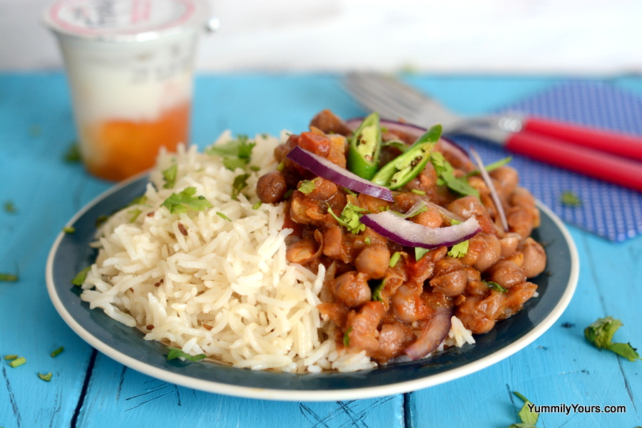 CHANNA MASALA | CHICKPEAS CURRY