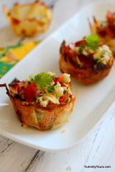 Baked Potato Chip Cups