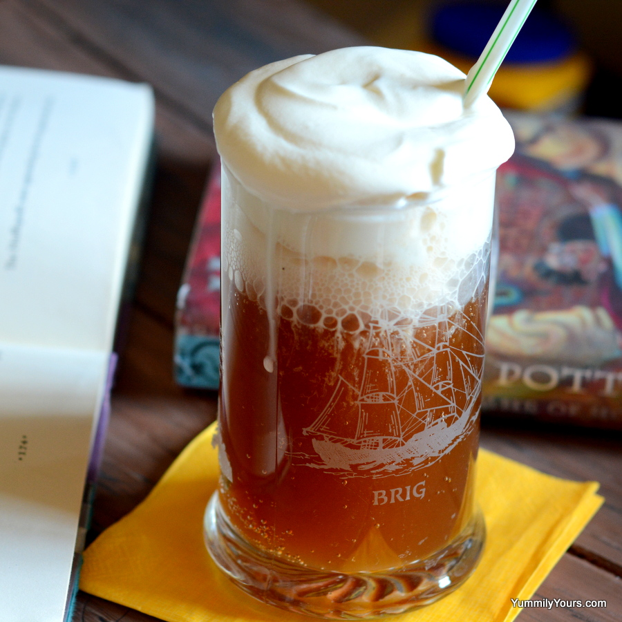 BUTTERBEER FROM THE WIZARDING WORLD OF HARRY POTTER