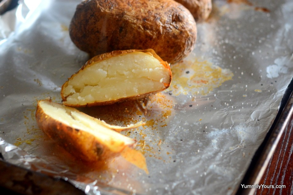 Perfect Oven Baked Potato