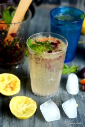 Virgin Grape Mojito
