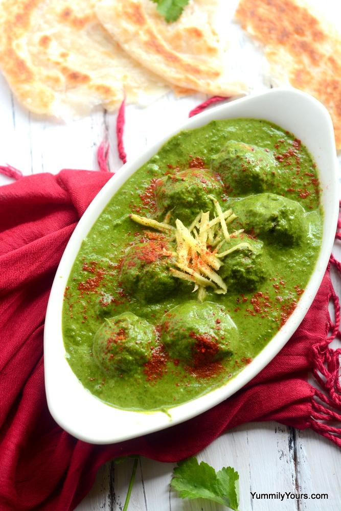 Corn Kofta Curry