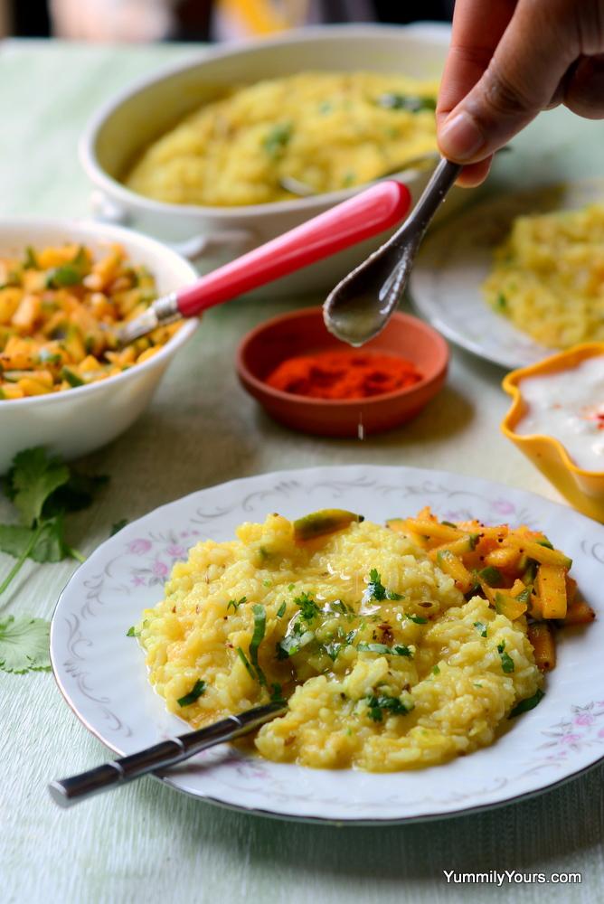 Khichadi, healing rice & lentil porridge