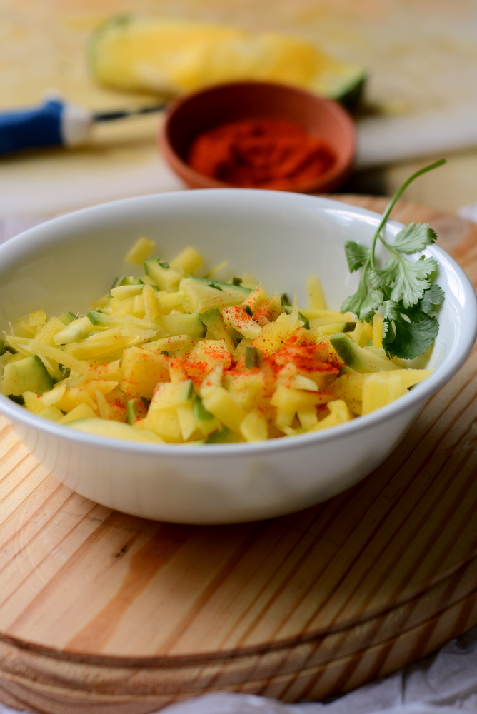 Raw mango Pickle recipe