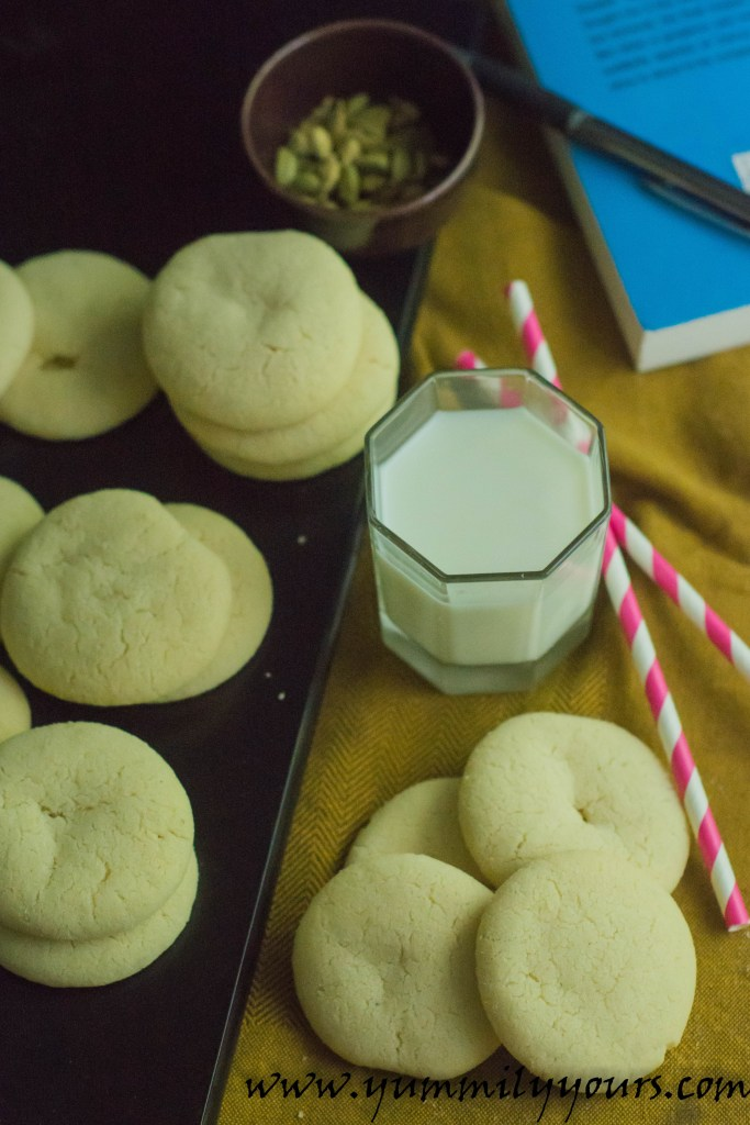 A delicious Indian take on butter cookies, Benne Biscuit