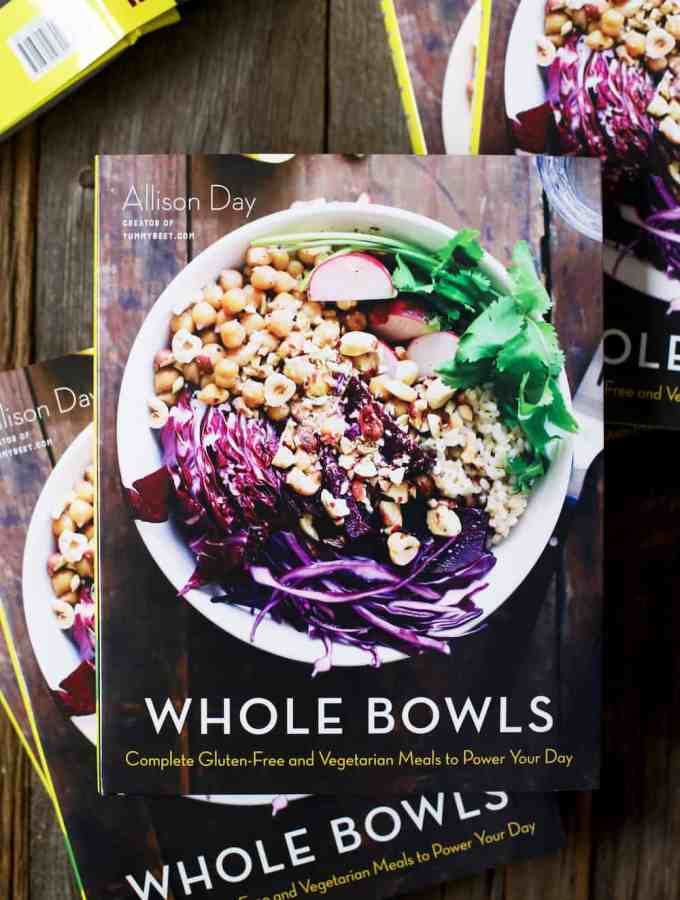 Whole Bowls cover cookbook allison day copy