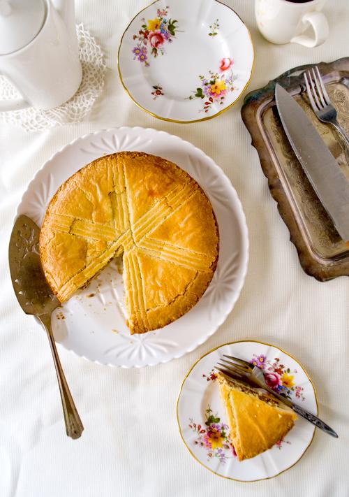 Basque Cake Recipe Luke Nguyen