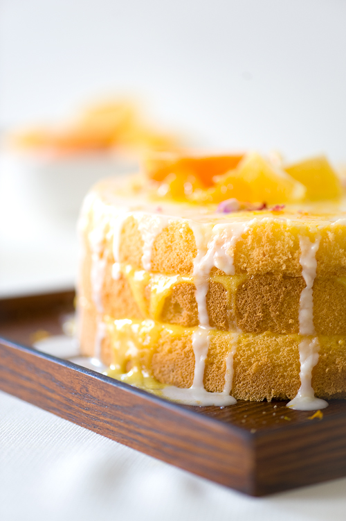 Lemon Chiffon Cake Recipe Konditor