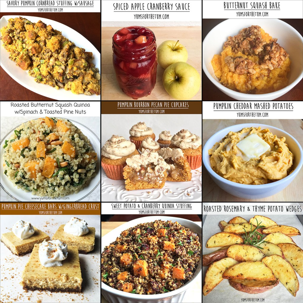 Countdown to Thanksgiving! (Thanksgiving Recipe Index)